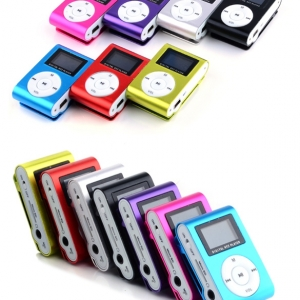 Mini MP3 grotuvas su LCD ekranu