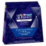 Crest 3D White Luxe Professional Effects dantų balinimo juostelė